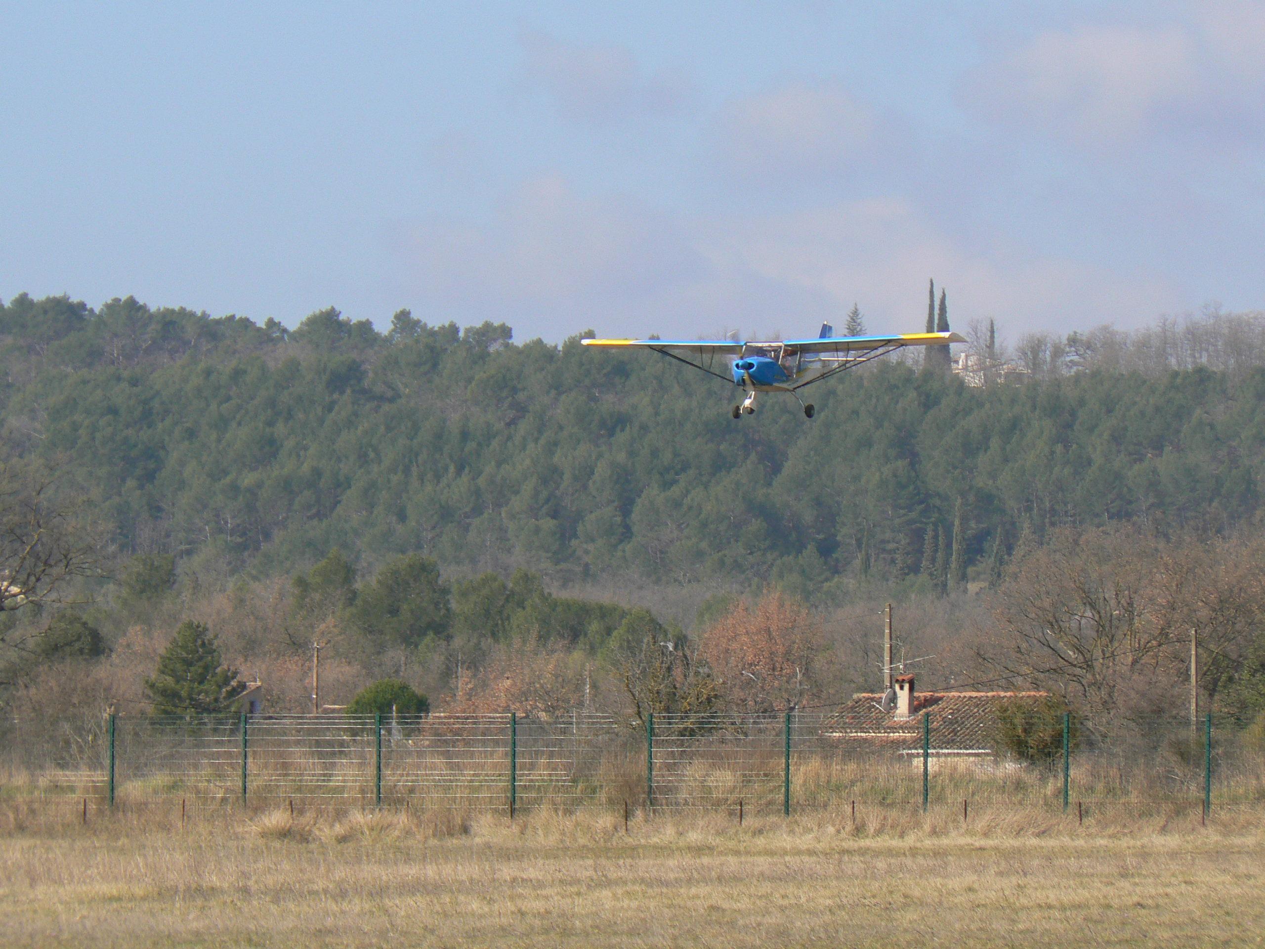 Guepard atterrissage